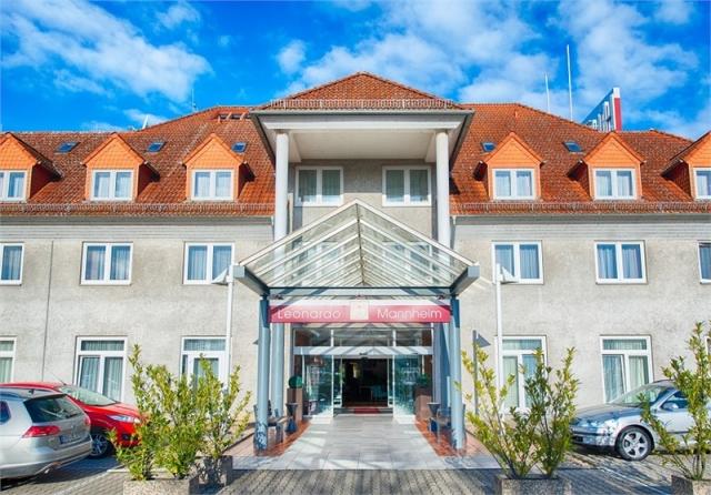 Leonardo Hotel Mannheim Ladenburg Aussenansicht MICE Service Group